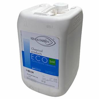Латексний Клей ECOSAR MW116 для шкіри, шкірозамінника, тканини, замші, без запаху (Італія, 10л)