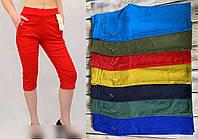 Женские летние бриджи, котоновые, большого размера, р. 50,52,54,56 цвета разные