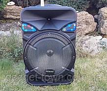 Колонка аккумуляторная с радиомикрофоном ZXX-8886 / 150W (USB/FM/Bluetooth)