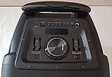 Колонка акумуляторна з радіомікрофоном ZXX-8886 / 150W (USB/FM/Bluetooth), фото 2