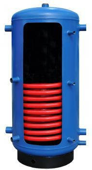 Аккумулирующая емкость (с одним теплообменником) Galmet SG (B) W Bufor 300 skay
