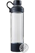 Спортивная бутылка-шейкер BlenderBottle Mantra Black Glass (СТЕКЛО) 600мл (ORIGINAL)