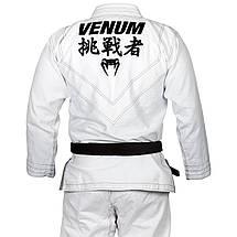 Кимоно для джиу-джитсу Venum Challenger 4.0 BJJ Gi White, фото 3