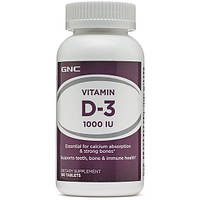 GNC - VITAMIN D-3 1000. 180 tab