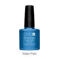 CND Shellac Water Park / небесно-синий с перламутром, 7,3 мл
