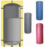 Аккумулирующая емкость c верхним теплообменником (d трубы 40мм,) ЕАІ-10-2000 с изоляцией