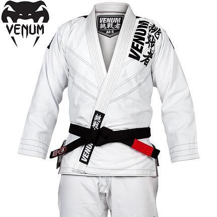 Кимоно для джиу-джитсу Venum Challenger 4.0 BJJ Gi White, фото 2