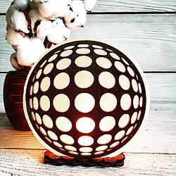 Соляная лампа Иллюзия 3-4 кг (18*18*6 см)