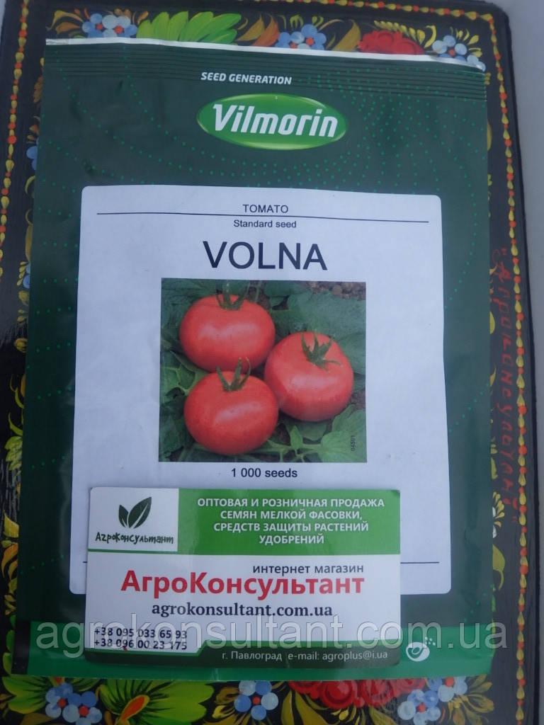 Семена ВОЛНА F1 / VOLNA F1, 1000 сем. - детерминантный томат, среднеранний, Vilmorin (Hazera)