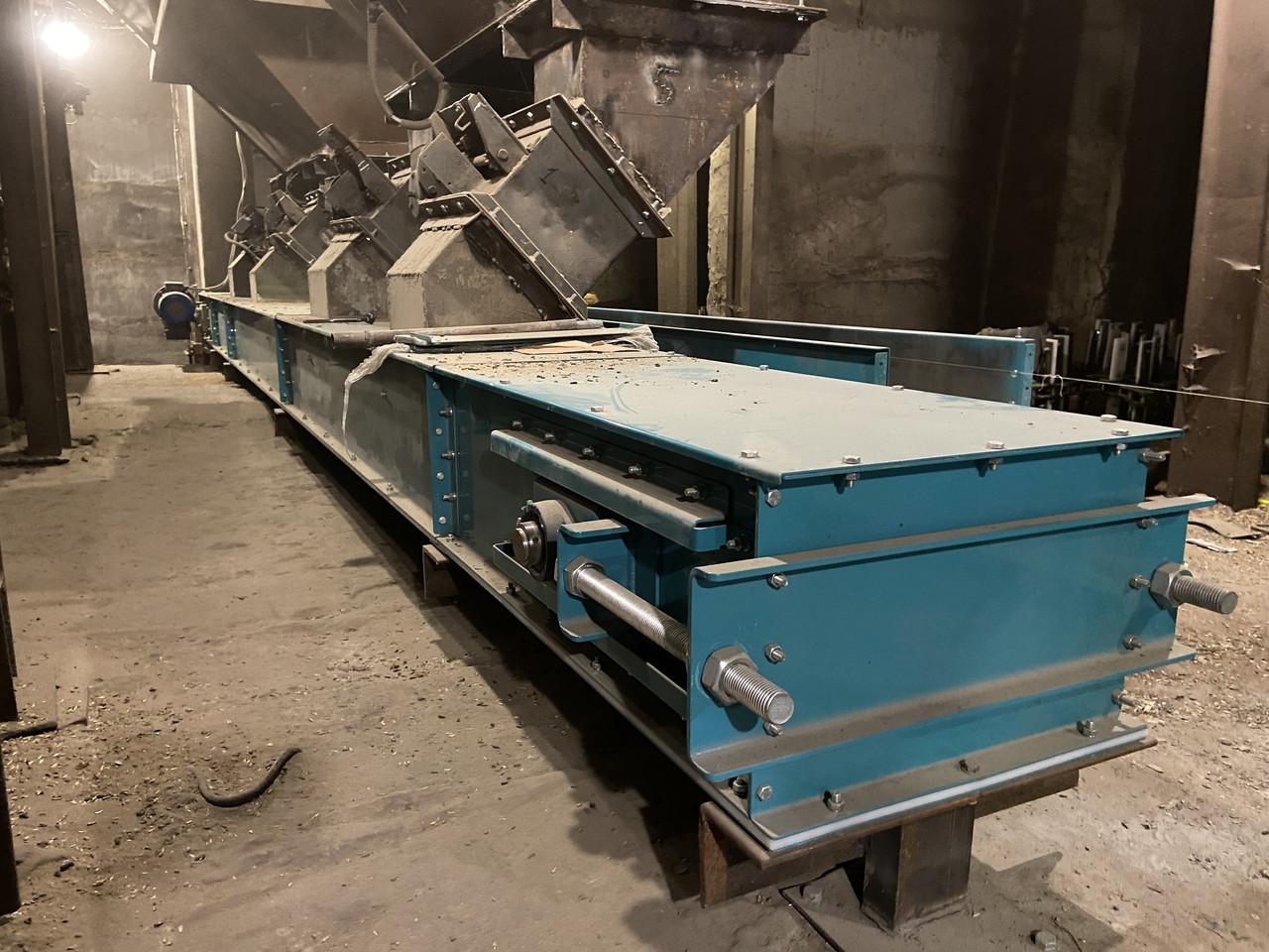 Конвейер ленточный в коробе ТЛК, закрытый ленточный конвейер, ленточный транспортер