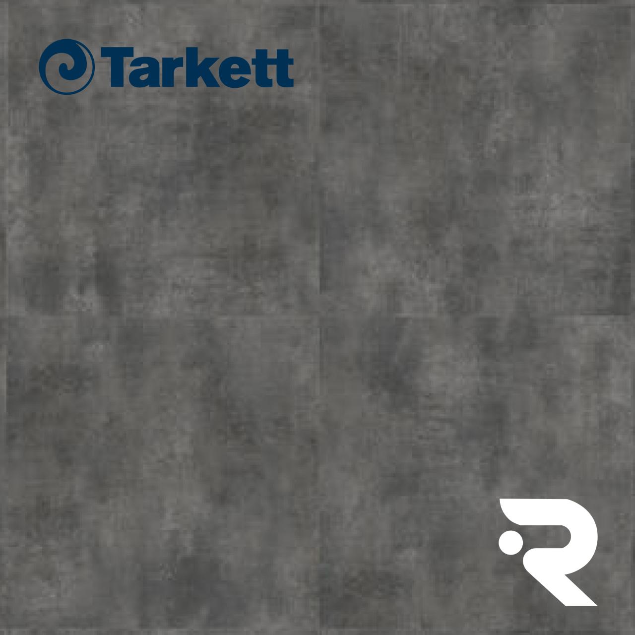 🌳 ПВХ плитка Tarkett | ModularT 7 - BETON DARK GREY | Art Vinyl | 600 x 600 мм