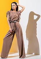Модний костюм з брюками палаццо Gador (42–48р) в кольорах, фото 2
