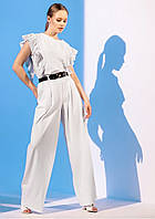 Модний костюм з брюками палаццо Gador (42–48р) в кольорах, фото 4