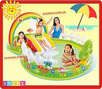 Надувний ігровий центр Intex 57154 «Мій сад»