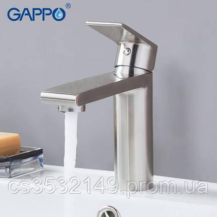 Смеситель для умывальника Gappo SUTENRESU-KO G1099-20, фото 2