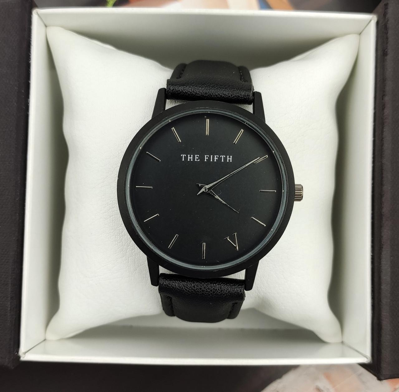 Часы V унисекс (black) - гарантия 6 месяцев