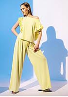 Модний костюм з брюками палаццо Gador (42–48р) в кольорах, фото 5