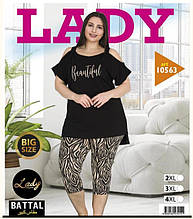 Костюм домашній великих розмірів LADY LINGERIE 10563