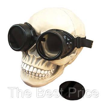 Очки Стимпанк Гогглы Премиум (черный)