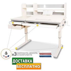 Детский растущий стол трансформер Montreal Multicolor (белый)