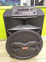 Колонка аккумуляторная с радиомикрофоном ZXX-8887 / 180W (USB/FM/Bluetooth)