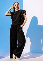 Модний костюм з брюками палаццо Gador (42–48р) в кольорах, фото 8
