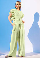 Модний костюм з брюками палаццо Gador (42–48р) в кольорах, фото 10