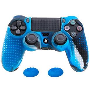 Чехол силиконовый для геймпада DualShock 4 PS4 антискользящий