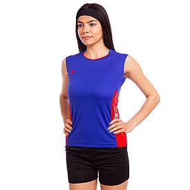 Форма волейбольна жіноча 6503W, Форма волейбольна жіноча 6503W, синя зростання 140-145