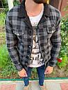 Серая мужская рубашка, фото 4