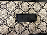 Поясна сумка бананка Gucci 21935 бежева, фото 4