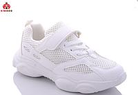 Стильные детские белые кроссовки для девочки, размер 34, 35,