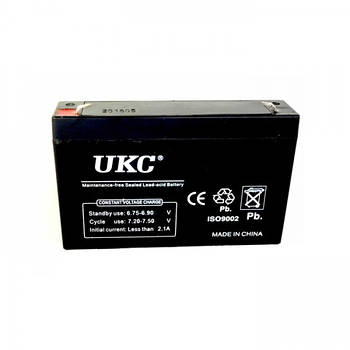 Аккумулятор UKC 6v 10 Ah