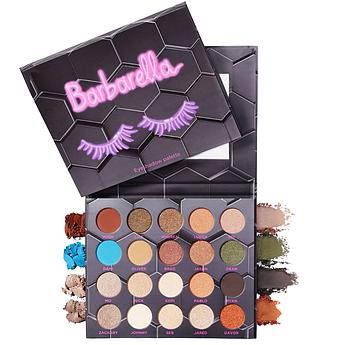Палетка для макияжа глаз и лица BeeBeauty London Barbarella Eyeshadow Palette 20 x 1.5 г