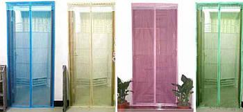 Сітка захисна від мух і комарів на двері магнітна - Антимоскітна