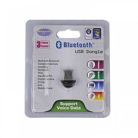 Адаптер USB Bluetooth 2.0 Dongle (Black)   Блютуз адаптер для пк