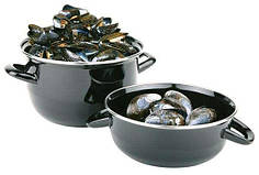 Кастрюлька для мидий 0,8 л APS 00623 сервировка стола для кафе ресторанов