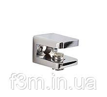 Полкодержатель для стекла F3M  S=4-7 мм с прижимом SIMPLE 1