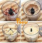Подрібнювач чоппер блендер Capsule Cutter Quatre (скляна чаша), фото 7