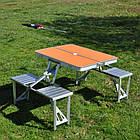 Стол складной со стульями в чемодане для пикника Rainberg RB-9302, фото 4