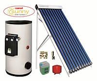 Гелиосистема для нагрева воды и отопления Galmet Standart Tube Ksg PT20