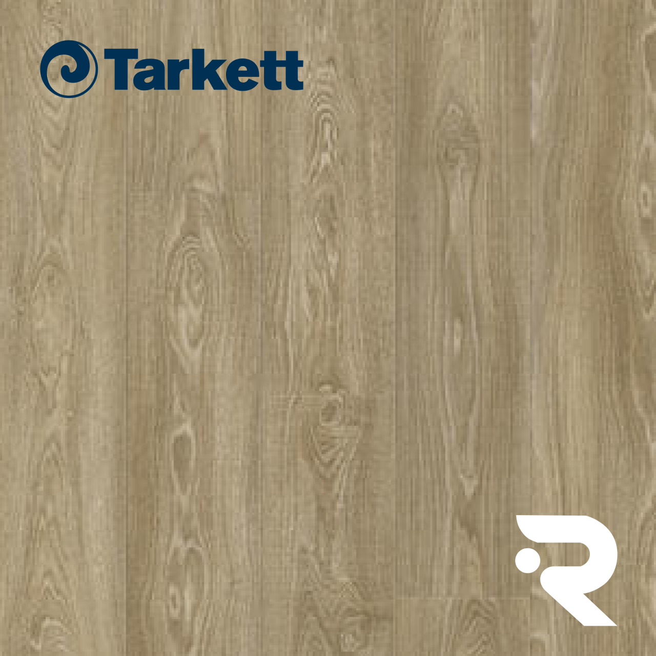 🌳 ПВХ плитка Tarkett | ModularT 7 - OAK STREET COLD BROWN | Art Vinyl | 1200 x 200 мм