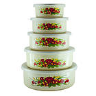 Набір лотків, лоточки, судочки, лоток, судок, контейнер для їжі A-PLUS 5 шт, фото 3