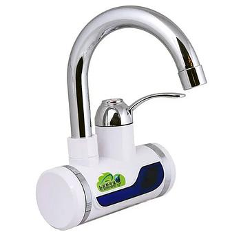 Електричний нагрівач Rapid RLD-01 проточний нагрівач для води з індикатором (нижнє підключення)