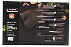 Кухонные ножи и подставки 021 ZP (6 Предметов), фото 3