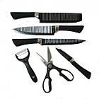 Набір самозагострювальних кухонних ножів CONTOUR PRO Knives 10 штук + магнітна рейка, фото 2