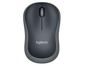 Міша комп'ютерна бездротова Logitech M185 Wireless Grey Оригінал
