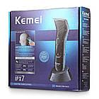 Професійна машинка для стрижки Kemei Km-5025, фото 10