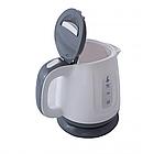 Электрочайник пластиковый Crownberg, надежный электрический чайник, техника для кухни 1 L, фото 2