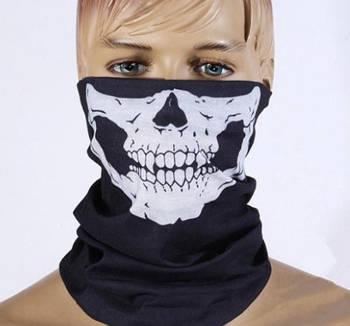 """Маска-шарф """"Скелет"""""""